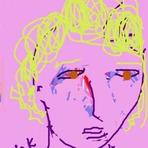 June Kaplan Paintings - Amy