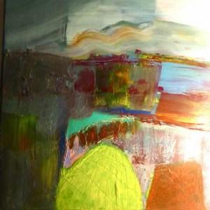 June Kaplan Paintings - As She Sleeps