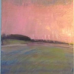 June Kaplan Painting - Farm
