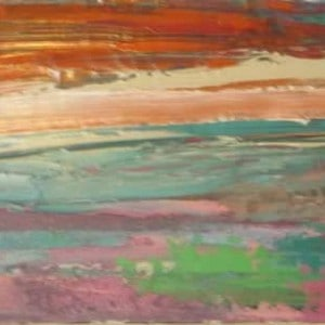 June Kaplan Painting - Gardners Bay