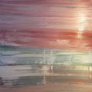 June Kaplan Painting - Harbor