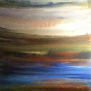 June Kaplan Painting - Inlet
