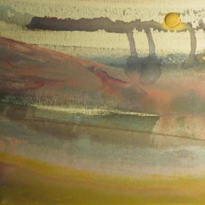 June Kaplan Painting - Inlet Two