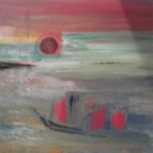 June Kaplan Painting - Journey