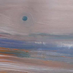 June Kaplan Painting - Just Before Dawn