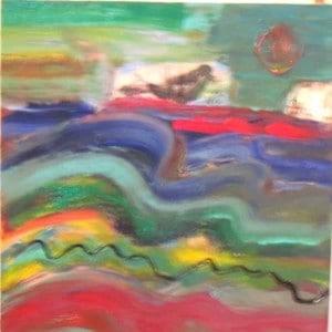 June Kaplan Painting - Morning