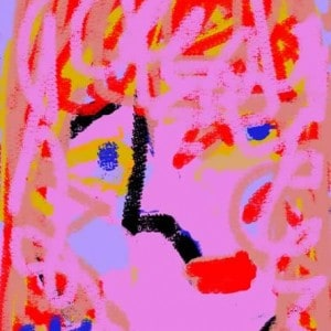 June Kaplan Paintings - Mzia