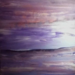 June Kaplan Painting - Nocturne