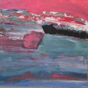 June Kaplan Painting - Port