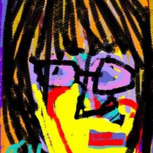 June Kaplan Paintings - Self Portrait 2