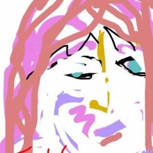 June Kaplan Paintings - Self Portrait