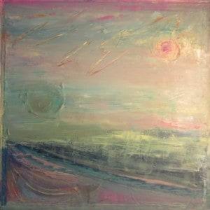 June Kaplan Painting - Singapore