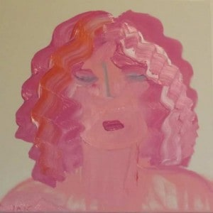 June Kaplan Paintings - Suzanne