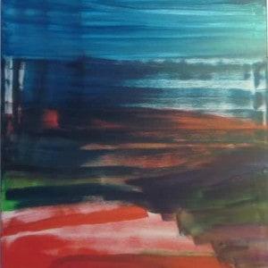 June Kaplan Painting - Theatre