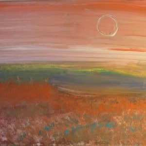 June Kaplan Painting - Where It Finds You