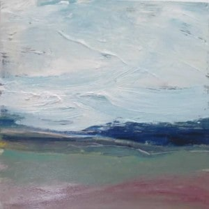 June Kaplan Painting - Wind