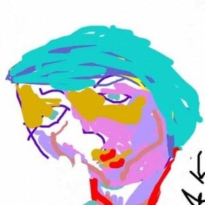 June Kaplan Paintings - Actor