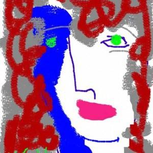 June Kaplan Paintings - Mrs. Bettye