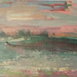 June Kaplan Painting - Montauk