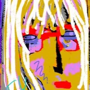 June Kaplan Paintings - Penny K.