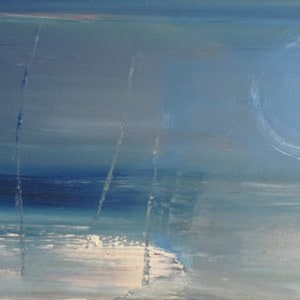 June Kaplan Painting - Twilight