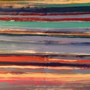 June Kaplan painting - Gradations