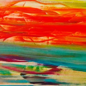 June Kaplan painting - Wake from Make-Believe